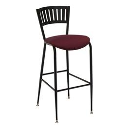 3818LA Series Café Stool - Fabric Upholstered Seat
