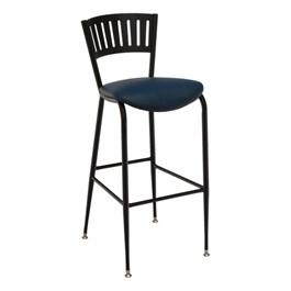 3818LA Series Café Stool - Vinyl Upholstered Seat