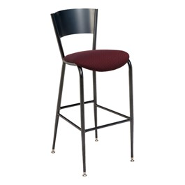 3818LC Series Café Stool - Fabric Upholstered Seat