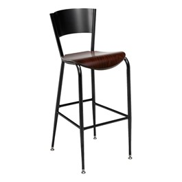 3818LC Series Café Stool - Wood Seat