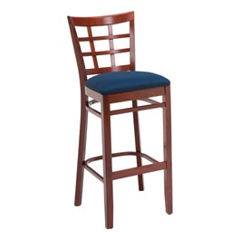 4300 Series Café Stool - Fabric Upholstered Seat