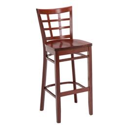 4300 Series Café Stool - Wood Seat