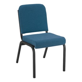 1000 Series Fabric Stack Chair - Blue
