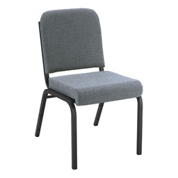1000 Series Fabric Stack Chair - Gray