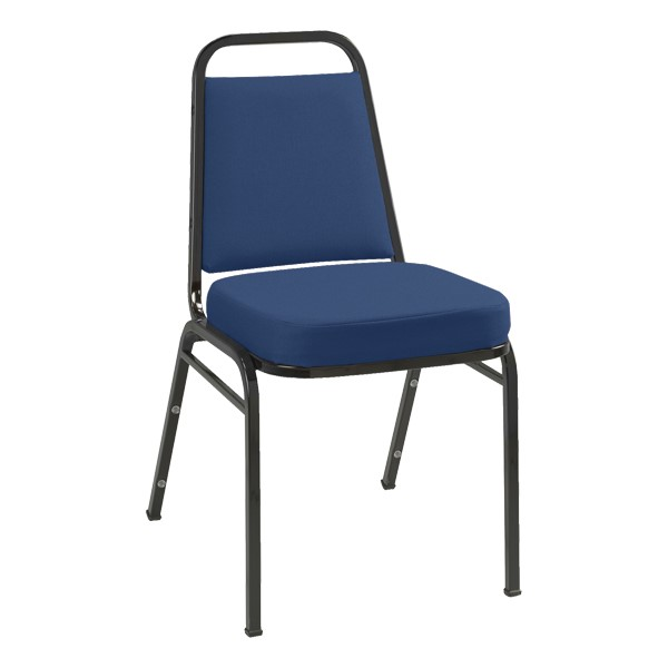 IM820 Stack Chair - Fabric Upholstered - Blue