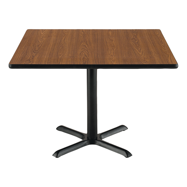 Square Pedestal Lunch Table