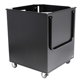 DuraLight Aluminum Library Transport Cart (412 Books or 1028 DVD/CDs)