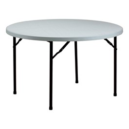 Valuelite Round Blow-Molded Folding Table