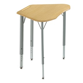Intellect Wave Trapezoid Student Desk