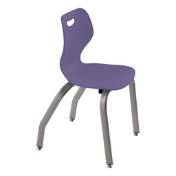 """Intellect Wave Music Chair (16"""" Seat Height) - Shown in grape"""