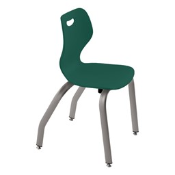 """Intellect Wave Music Chair (16"""" Seat Height) - Shown in marine teal"""