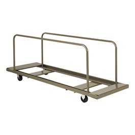 Edge-Stacking Folding Table Dolly