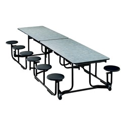 Uniframe Mobile Cafeteria Stool Table