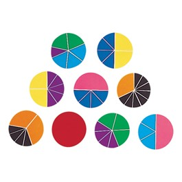 Rainbow Fraction Deluxe Circles