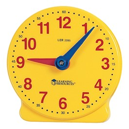"Big Time Learning Clock - 5"" Student Size"