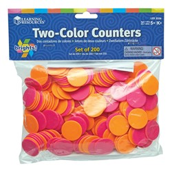 Brights! Two Color Counters - Set of 200