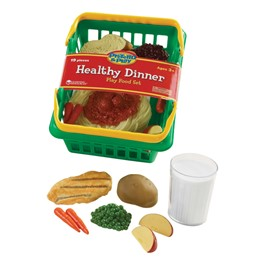 Pretend & Play Healthy Meal Basket - Dinner