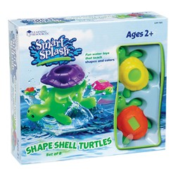 Smart Splash Shape Shell Turtles - Box