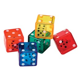 Dice in Dice Bucket - Set of 72