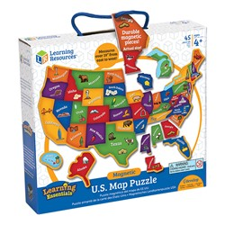 Magnetic US Map Puzzle - Box