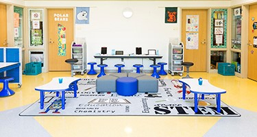 Innovation Pods for Kindergarteners