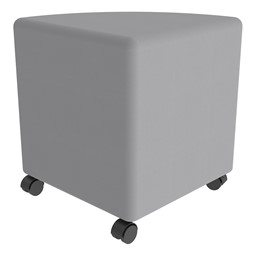 """Shapes Series II Vinyl Soft Seating - Pie (18"""" H) - Caster"""