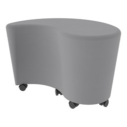 "Shapes Series II Vinyl Soft Seating - Teardrop (18"" H) - Caster"