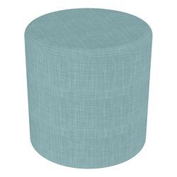 "Shapes Series II Vinyl Soft Seating - Cylinder (18"" High) - Blue Crosshatch"