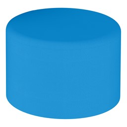 "Shapes Series II Vinyl Soft Seating - Circle Ottoman - 12"" H"