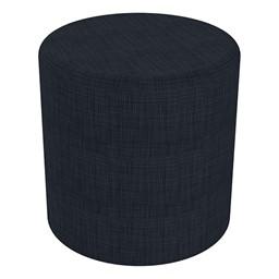 "Shapes Series II Vinyl Soft Seating - Cylinder (18"" High) - Navy Crosshatch"