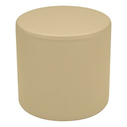 """Shapes Series II Vinyl Soft Seating - Cylinder (18"""" High) - Sand Smooth Grain"""