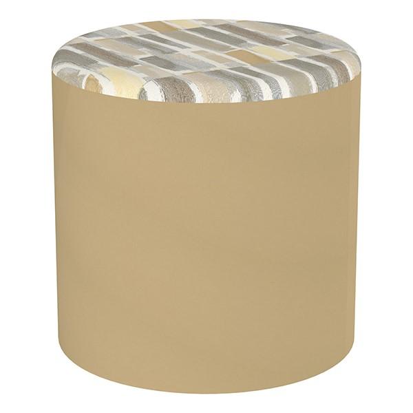 """Shapes Series II Designer Soft Seating - Cylinder (18"""" High) - Sand/Desert"""