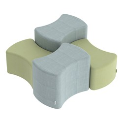 """Shapes Series II Vinyl Soft Seating - Bow-Tie (18"""" High) - Shown w/ 12"""" high bow tie"""