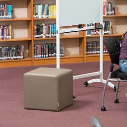 Shapes Series II Vinyl Soft Seating - Cube