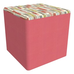 "Shapes Series II Designer Soft Cube Seating - 18"" H"