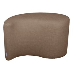 "Shapes Series II Vinyl Soft Seating - Teardrop (18"" High) - Brown Crosshatch"