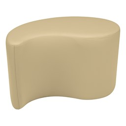 "Shapes Series II Vinyl Soft Seating - Teardrop (18"" High) - Sand Smooth Grain"