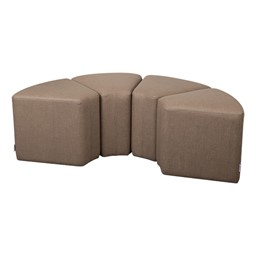 Shapes Series II Vinyl Soft Seating - Wedge - Grouped