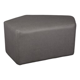 Shapes Series II Vinyl Soft Seating - CommunEDI (gray crosshatch)