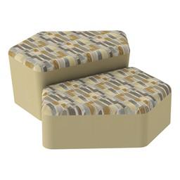 Shapes Series II Designer Soft Seating - CommunEDI - Desert/Sand