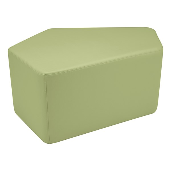"Shapes Series II Vinyl Soft Seating - CommunEDI (18"" High) - Fern Grain Smooth Grain"