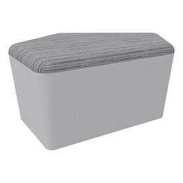 "Shapes Series II Designer Soft Seating - CommunEDI (18\"" High) - Gray/Pepper"