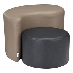 Shapes Series II Vinyl Soft Seating - Cylinder - Shown w/ Teardrop (not included)