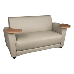 Common Area Sofa W Tablet Arms At School Outfitters
