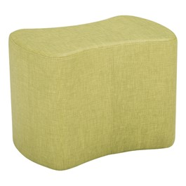"Shapes Series II Vinyl Soft Seating - Bow-Tie (18"" High) - Green crosshatch"