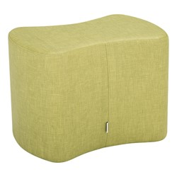 """Shapes Series II Vinyl Soft Seating - Bow-Tie (18"""" High) - Green crosshatch"""