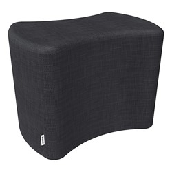 """Shapes Series II Vinyl Soft Seating - Bow Tie (18"""" High) - Navy Crosshatch"""
