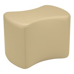 """Shapes Series II Vinyl Soft Seating - Bow Tie (18"""" High) - Sand Smooth Grain"""