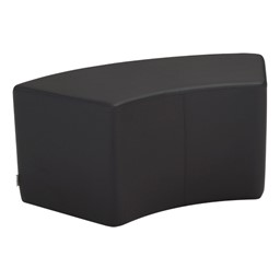 """Shapes Series II Vinyl Soft Seating - S-Curve - 18"""" H"""