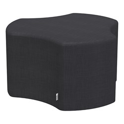 "Shapes Series II Vinyl Soft Seating - Cog (18"" High) - Navy Crosshatch"